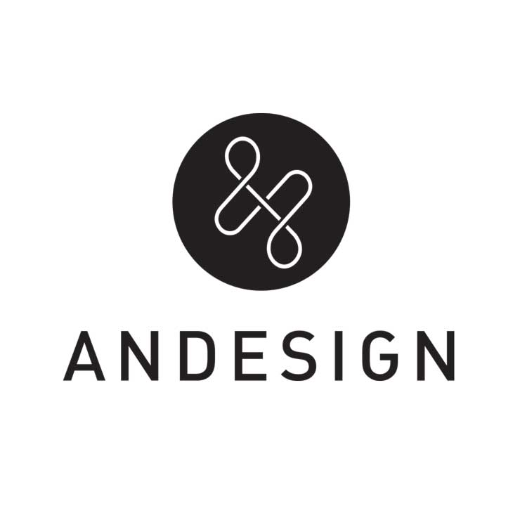 andesign industrial design firm logo