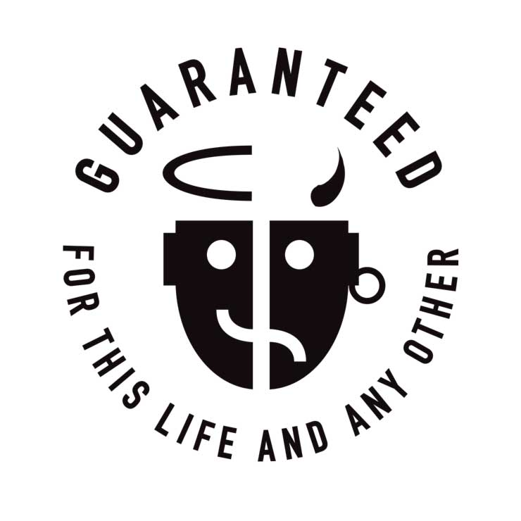 discgear guarantee logo design